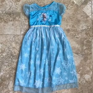 Frozen 2 Elsa Princess Nightgown